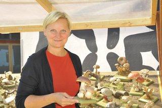 Eröffnung Vorgartenmarkt; StRin Sandra Frauenberger; 2., Vorgartenmarkt