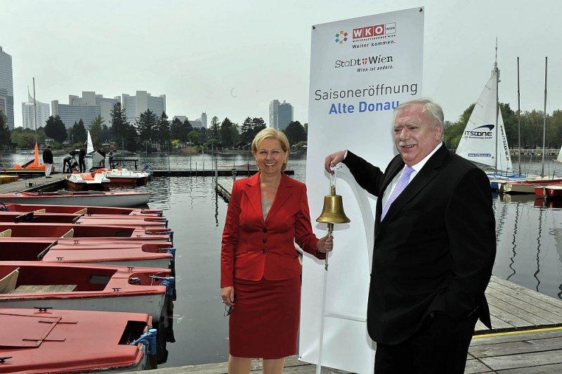 "27. April 2011 ""Saisoneröffnung Alte Donau"""