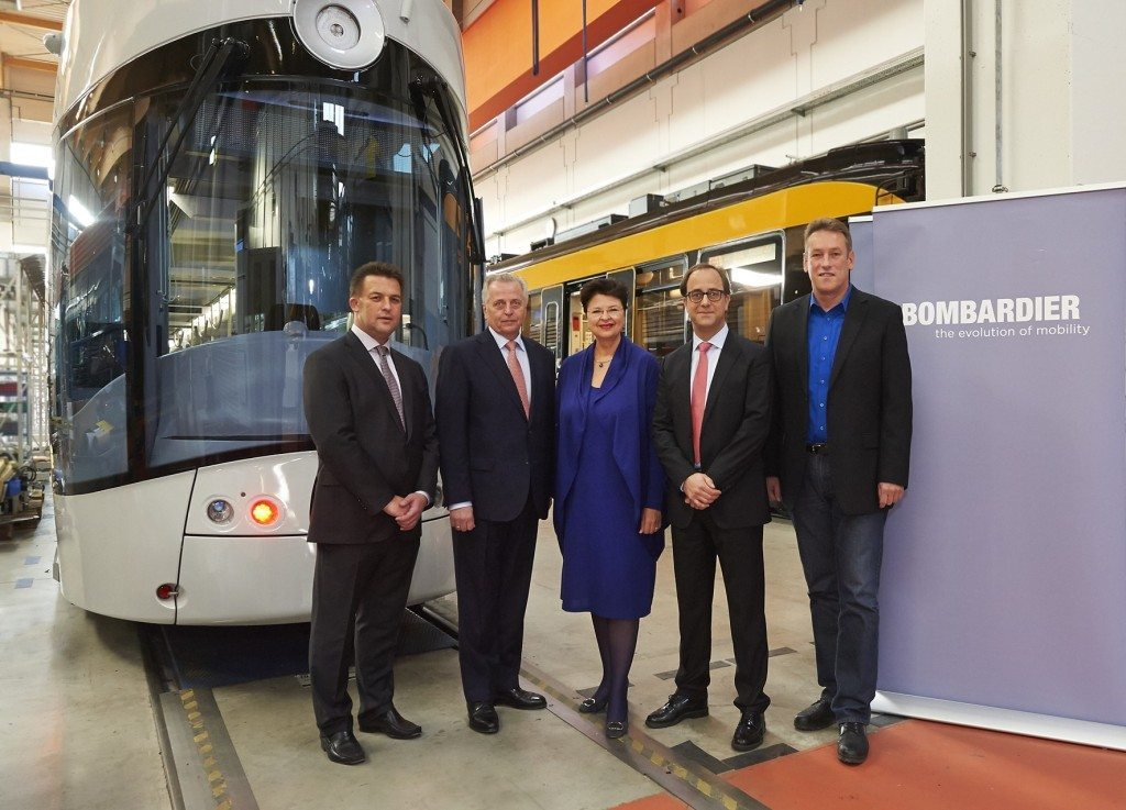 Bombardier Transportation feiert 5 Jahre am Standort Donaustadt