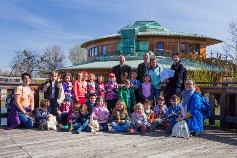 MA 49: 150.000 Besucher im Nationalparkhaus wien-lobAU