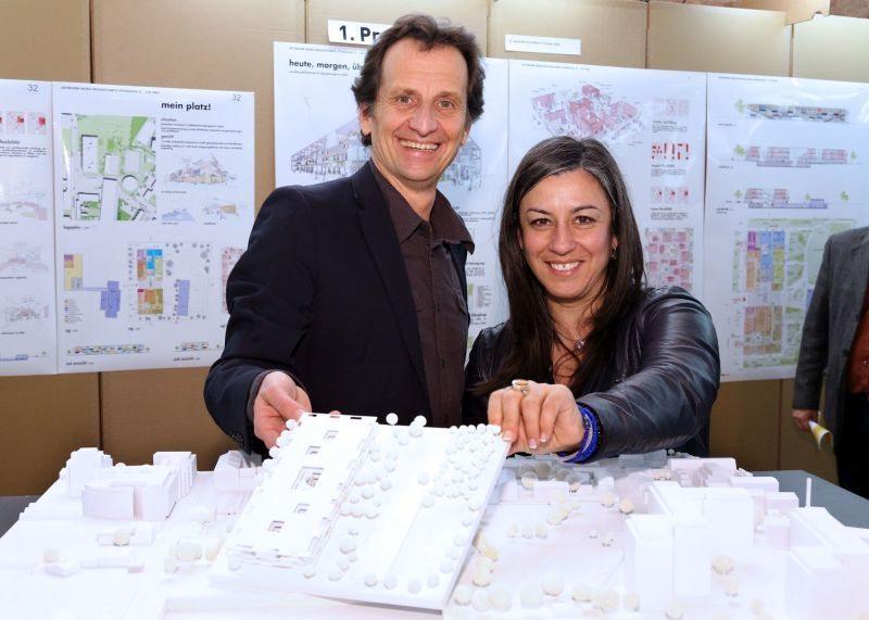 Vassilakou, Oxonitsch und Jilka präsentieren Architekturwettbwerb Campus Attemsgasse