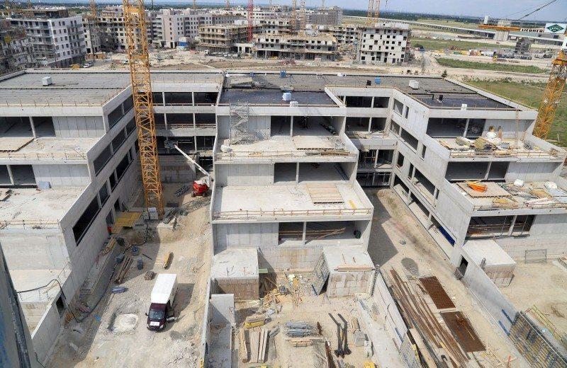 """Dachgleiche für Bildungscampus """"aspern Die Seestadt Wiens"""
