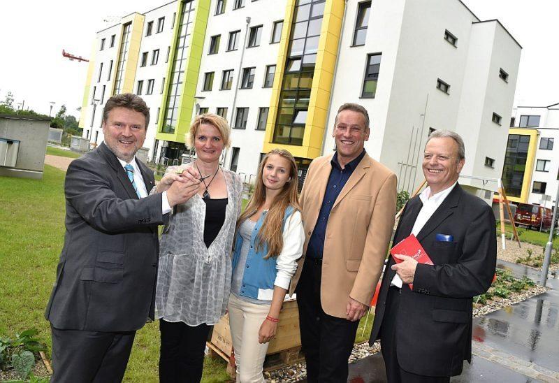 Ludwig/Scheed: Zwei neue Vorzeigewohnprojekte in der Donaustadt