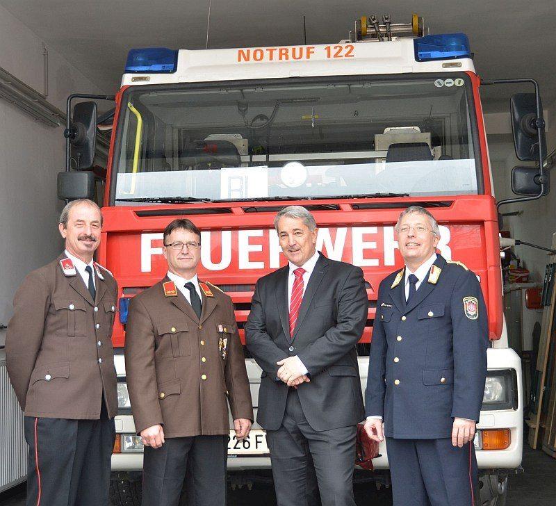 Freiwillige Feuerwehr Breitenlee bestens gerüstet für die Zukunft
