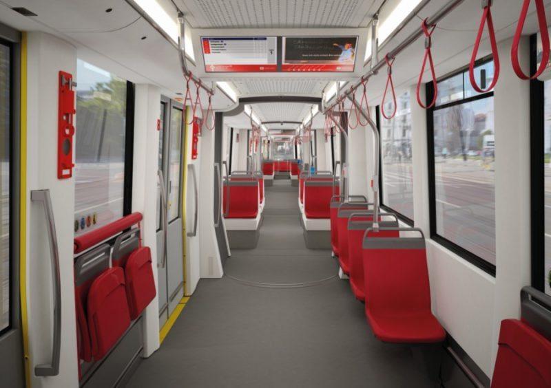 Flexity-Straßenbahn