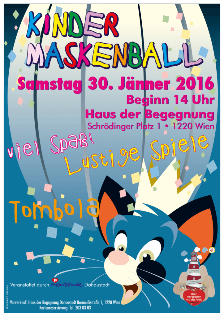 Plakat Maskenball2016