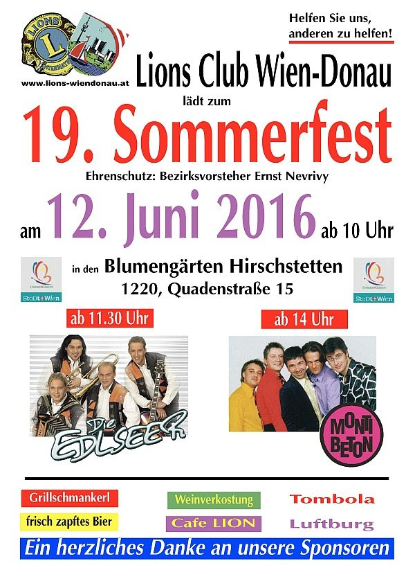 19. Sommerfest Plakat-klein